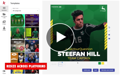 Introduction to Kickly: How to Easily Create Sports Graphics