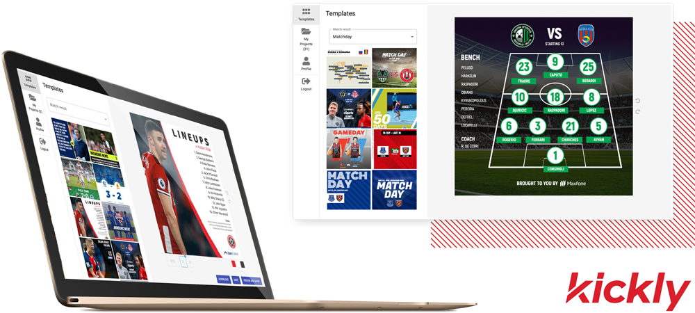 Kickly – The Home of Matchday Graphics