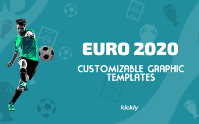 Customizable Graphic Templates for Euro 2020