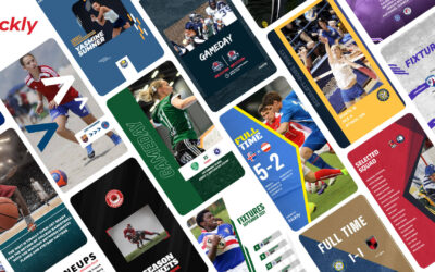 Kickly now offers Free Sports Graphic Templates on Sign-up